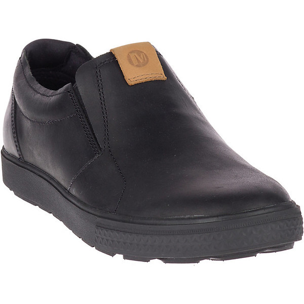 メレル メンズ スニーカー シューズ Merrell Men's Barkley Moc Shoe Black