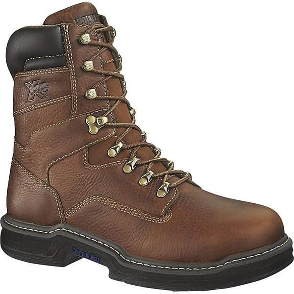 ウルヴァリン メンズ ブーツ&レインブーツ シューズ Wolverine Men's Raider 8IN Steel Toe Boot Brown