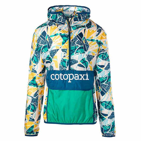 コートパクシー レディース ジャケット&ブルゾン アウター Cotopaxi Teca Windbreaker Halfzip Jacket Squiggle