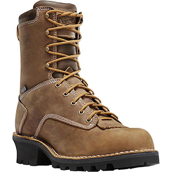 ダナー メンズ ブーツ&レインブーツ シューズ Danner Men's Danner Logger 8IN Boot Brown