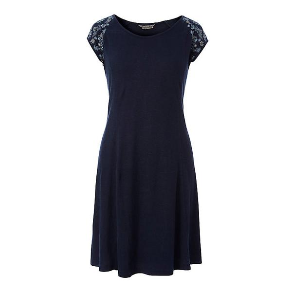 ロイヤルロビンズ レディース ワンピース トップス Royal Robbins Women's Flynn Scoop Neck Dress Deep Blue