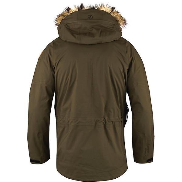 フェールラーベン メンズ ジャケット&ブルゾン アウター Fjallraven Men's Keb Eco Shell Parka Dark Olive