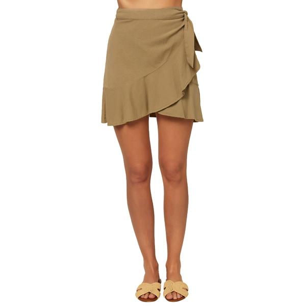 オニール レディース スカート ボトムス Rifraff Woven Wrap Skirt Mermaid