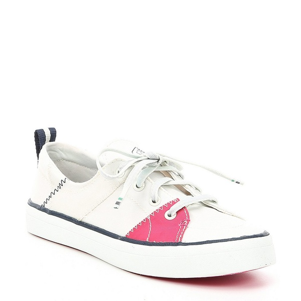 スペリー レディース スニーカー シューズ Women's BIONIC Crest Vibe Yarn Sneakers White/Hot Pink/Green