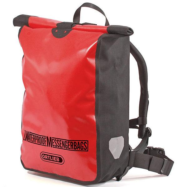 オルトリーブ レディース ボストンバッグ バッグ Ortlieb Messenger Bag Red / Black