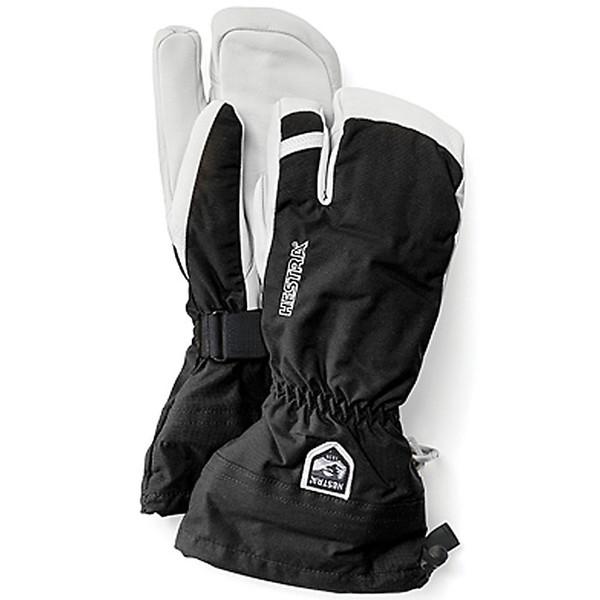 ヘストラ レディース 手袋 アクセサリー Hestra Army Leather Heli Ski 3-Finger Glove Black