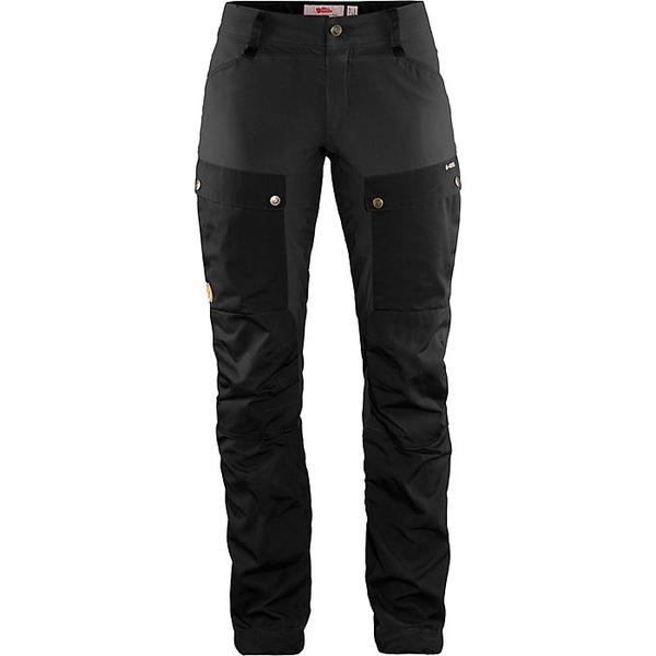 フェールラーベン レディース ハイキング スポーツ Fjallraven Women's Keb Curved Trouser Black-Stone Grey