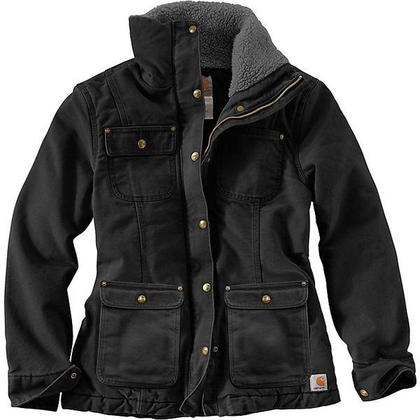 カーハート レディース ジャケット&ブルゾン アウター Carhartt Women's Wesley Coat Black