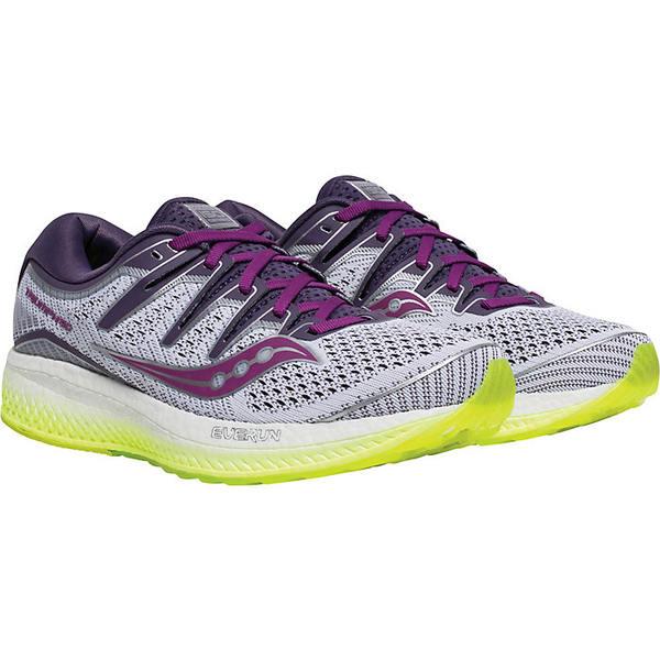 サッカニー レディース ランニング スポーツ Saucony Women's Triump ISO 5 Shoe White/Purple/CTN