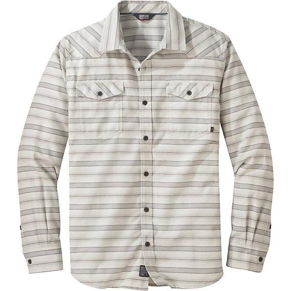 アウトドアリサーチ メンズ シャツ トップス Outdoor Research Men's Pilchuck LS Shirt Sand