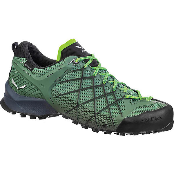 サレワ メンズ ハイキング スポーツ Salewa Men's Wildfire GTX Shoe Myrtle/Flou Green
