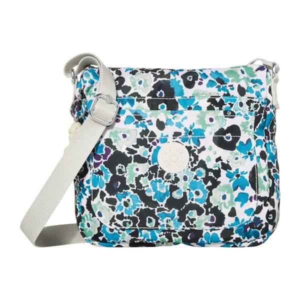 キプリング レディース ハンドバッグ バッグ Sebastian Crossbody Bag Blue Field Floral