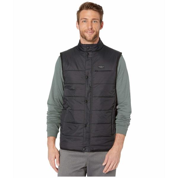 トラビスマヒュー メンズ コート アウター Rain Delay Vest Black