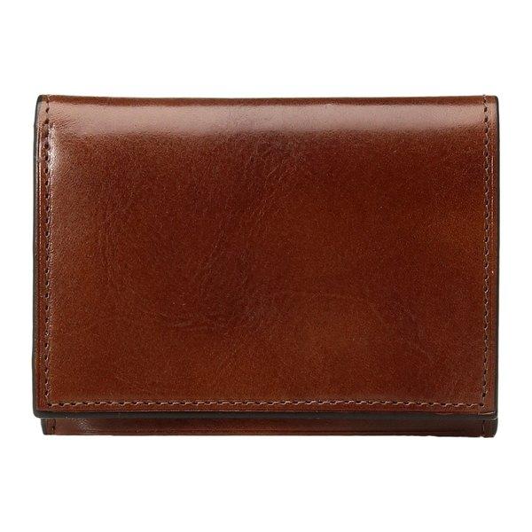 ボスカ メンズ 財布 アクセサリー Old Leather Collection - Double I.D. Trifold Amber