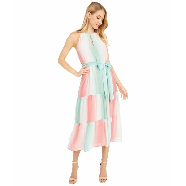 パーカー レディース ワンピース トップス Leonora Dress Ombre Stripe