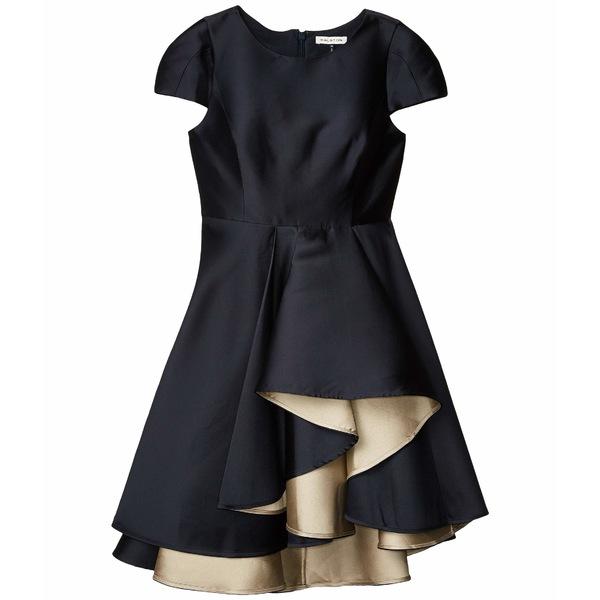ホルストンヘリテイジ レディース ワンピース トップス Dramatic Skirt Dress Navy/Champagne