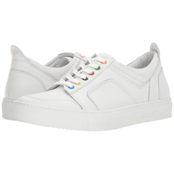 デルトロ メンズ スニーカー シューズ Low Top Boxing Sneaker White