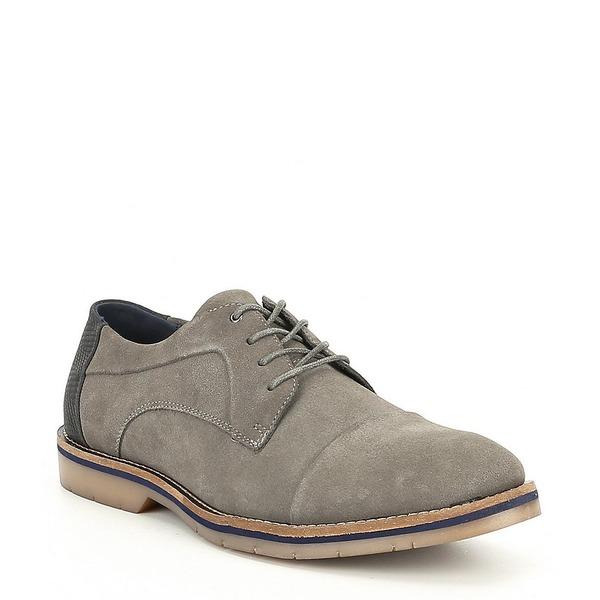 スティーブ マデン メンズ Oxford ドレスシューズ シューズ Grey Men's メンズ Solemn Cap Toe Oxford Grey, SUZUMORIオンライン:65faed23 --- wap.assoalhopelvico.com