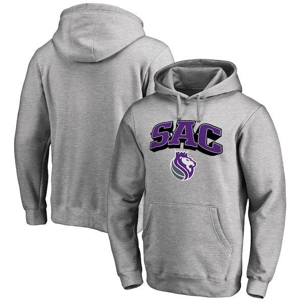 ファナティクス メンズ パーカー・スウェットシャツ アウター Sacramento Kings Fanatics Branded Hometown Collection SAC Pullover Hoodie Ash