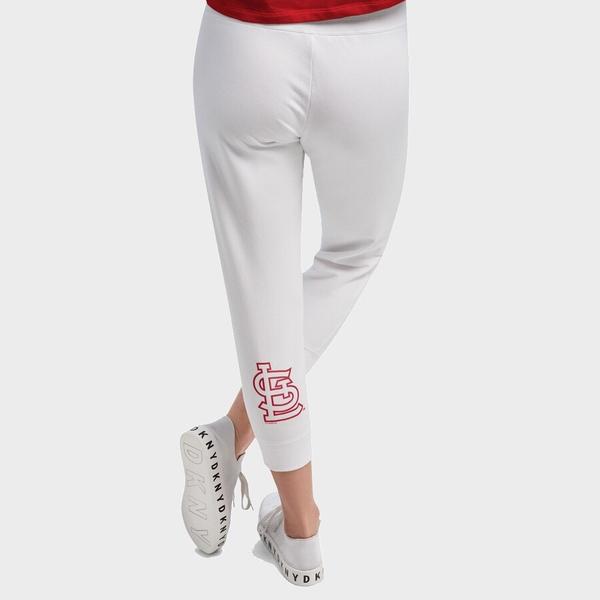 ダナキャラン レディース カジュアルパンツ ボトムス St. Louis Cardinals DKNY Sport Women's The Hampton Jogger Pants White