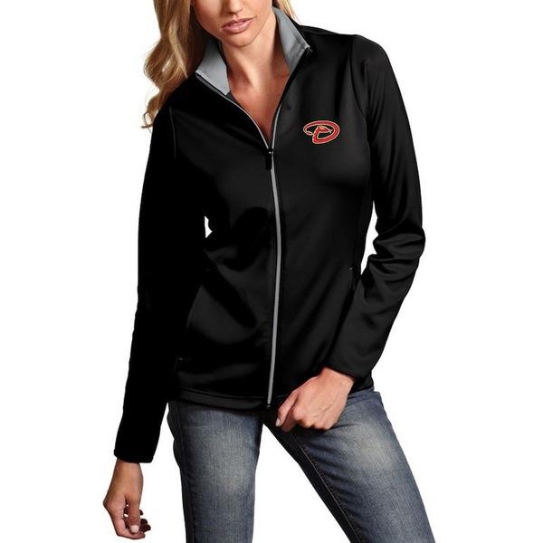 アンティグア レディース ジャケット&ブルゾン アウター Arizona Diamondbacks Antigua Women's Leader Full-Zip Jacket Black