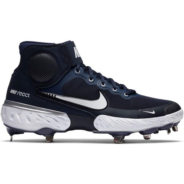 <title>Nike メンズ スポーツ 野球 Navy 全商品無料サイズ交換 ナイキ Men's Alpha Hurrache 付与 Elite 3 Mid Baseball Cleats</title>