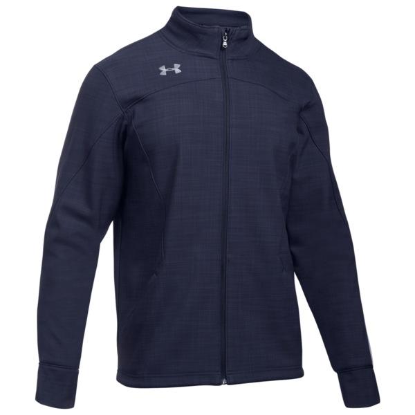 アンダーアーマー メンズ ジャケット&ブルゾン アウター Team Barrage Softshell Jacket Midnight Navy/Steel