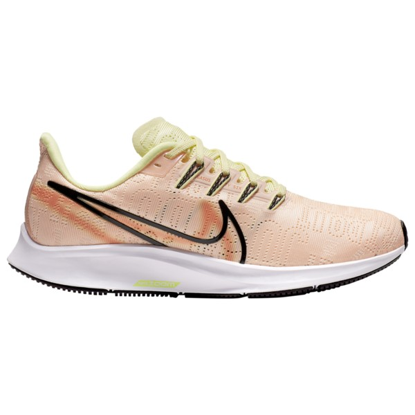 ナイキ レディース ランニング スポーツ Air Zoom Pegasus 36 Premium Rise Crimson Tint/Black/Luminous Green