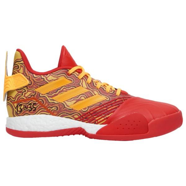 アディダス メンズ バスケットボール スポーツ TMac Millenium Tracy Mcgrady   Scarlet/Gold Metallic/Red
