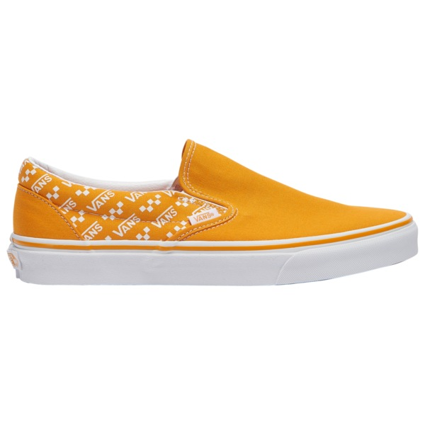 バンズ メンズ スニーカー シューズ Classic Slip On Cadmium Yellow/True White