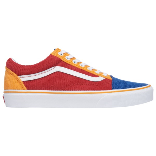 バンズ メンズ スニーカー シューズ Old Skool Red/Blue/Orange