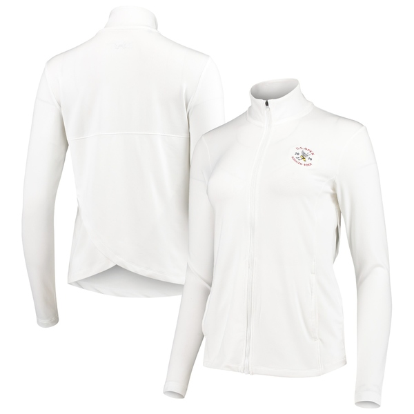 アンダーアーマー レディース ジャケット&ブルゾン アウター Women's 2020 U.S. Open Under Armour White Tulip Back Full Zip Jacket