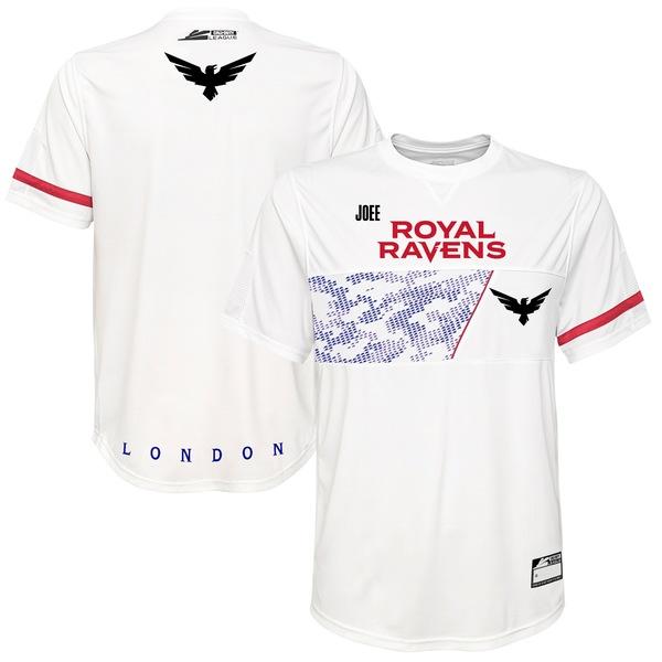 アウタースタッフ メンズ ユニフォーム トップス Joee London Royal Ravens Jersey White
