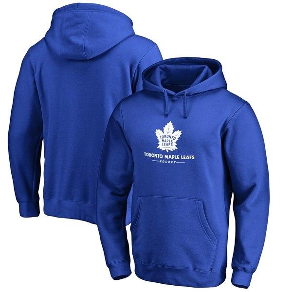 ファナティクス メンズ パーカー・スウェットシャツ アウター Toronto Maple Leafs Big & Tall Team Lockup Pullover Hoodie Royal
