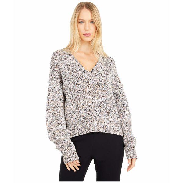 【国内正規品】 ジェイソンウー レディース ニット&セーター アウター Multicolor V-Neck アウター レディース Multi Sweater Multi, 能都町:5c631c74 --- independentescortsdelhi.in