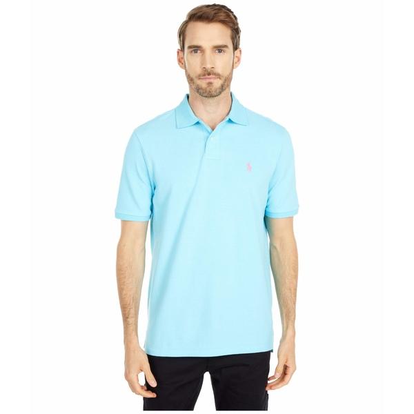 ラルフローレン メンズ シャツ トップス Classic Fit Mesh Polo French Turquoise