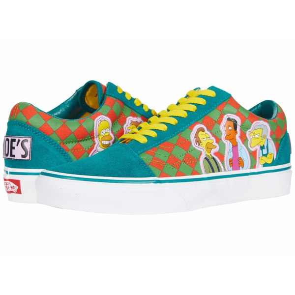 バンズ メンズ サンダル シューズ Vans X The Simpsons Sneaker Collection (The Simpsons) Moe's (Old Skool)