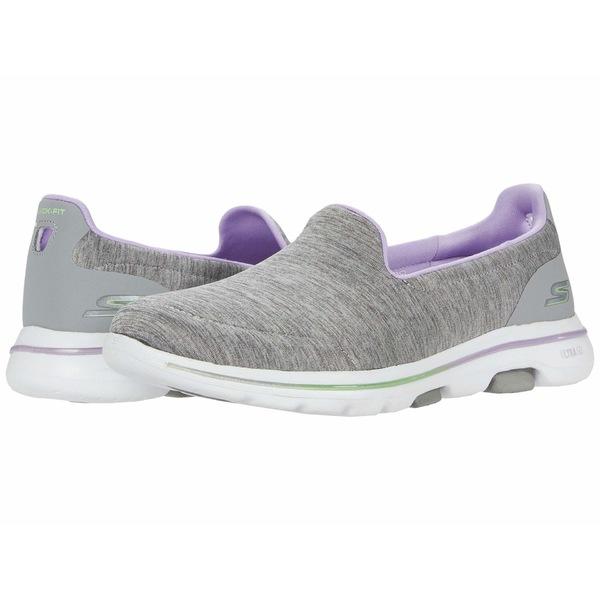 スケッチャーズ レディース スニーカー シューズ Go Walk 5 - 124204 Gray/Lavender