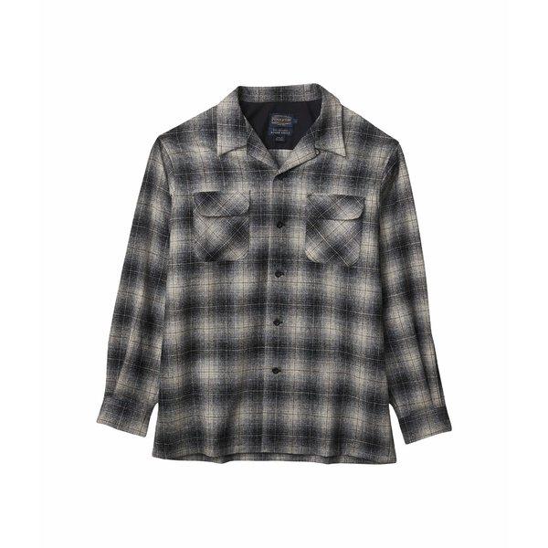 ペンドルトン メンズ シャツ トップス L/S Board Shirt Grey/Black/Tan