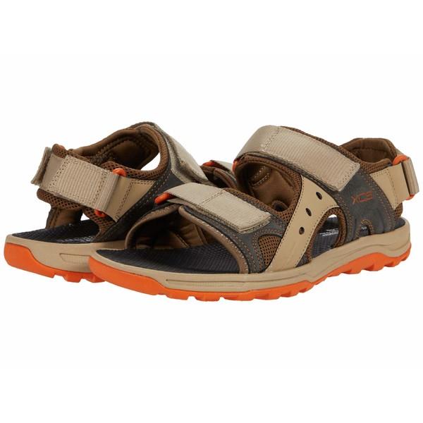 ロックポート メンズ サンダル シューズ Trail Technique Adjustable Sandal Tan Multi