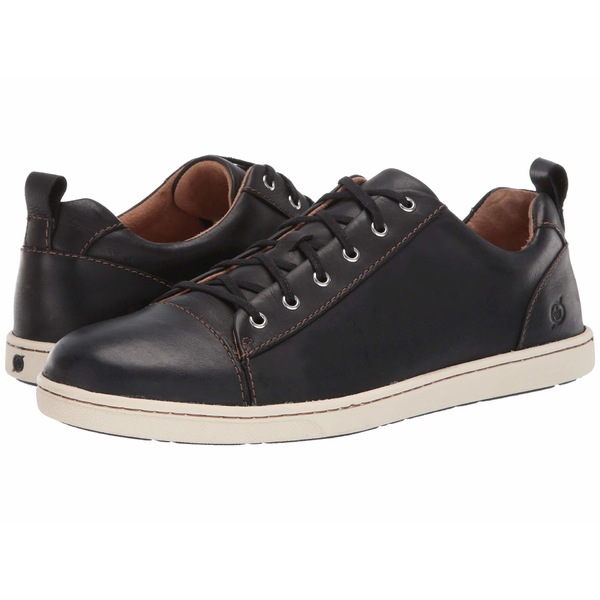ボーン メンズ スニーカー シューズ Allegheny Black Full Grian Leather