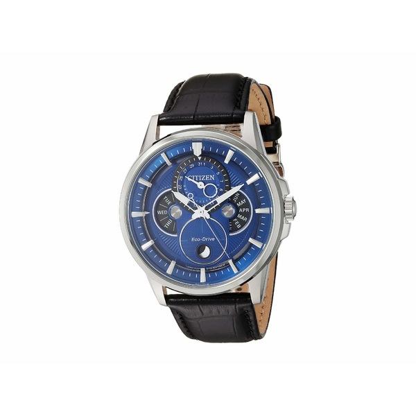 シチズンウォッチ メンズ 腕時計 アクセサリー BU0050-02L Calendrier Black