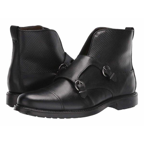 マッシモマッテエロ メンズ ブーツ&レインブーツ シューズ Double Monk Boot Black