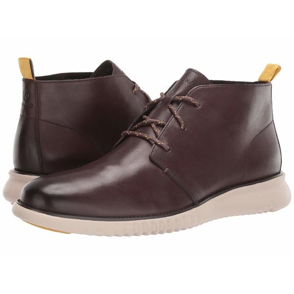 コールハーン メンズ ブーツ&レインブーツ シューズ 2.Zerogrand Chukka Black Walnut Leather