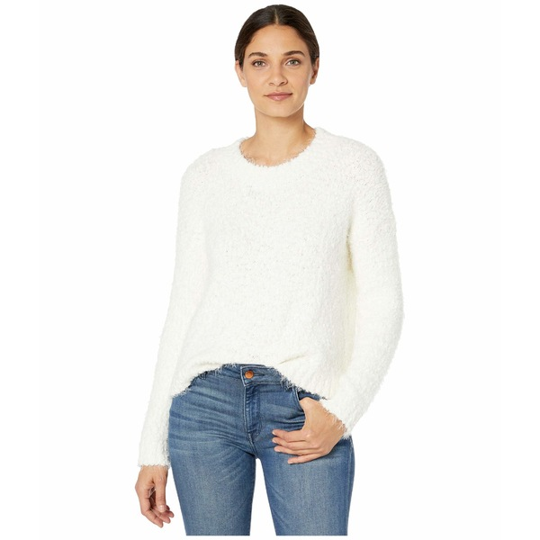 ウミーユアムーム レディース ニット&セーター アウター Cropped Varsity Sweater Knubby Knit Cream