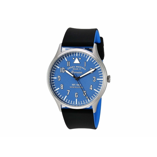 フォッシル メンズ 腕時計 アクセサリー 42 mm Forrester - FS5617 Silver/Blue/Black