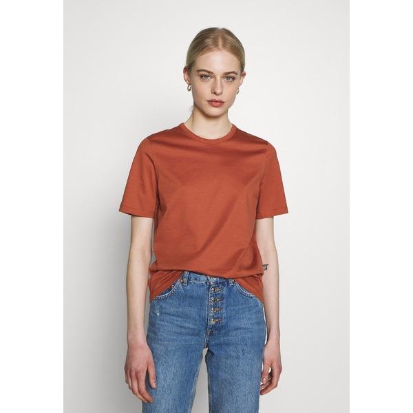 トップス レディース オーク アンド アイビー rose T-shirt - tan OLEA Tシャツ Basic -