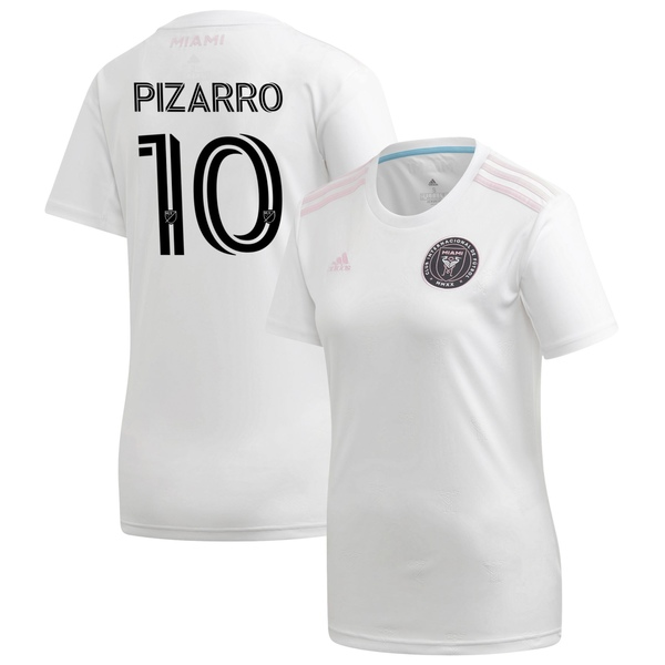 アディダス レディース ユニフォーム トップス Rodolfo Pizarro Inter Miami CF adidas Women's 2020 Primary Replica Player Jersey White