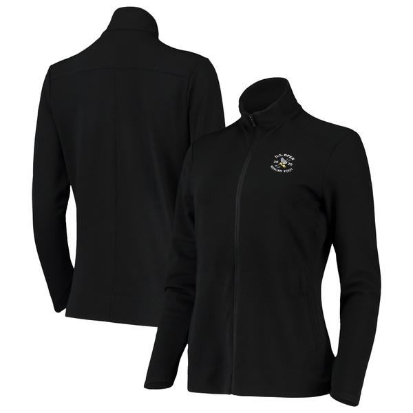 ナイキ レディース ジャケット&ブルゾン アウター Women's 2020 U.S. Open Nike Black Performance Full Zip Jacket