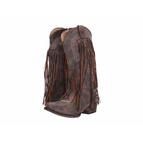 ローパー レディース ブーツ&レインブーツ シューズ Veronica Vintage Brown Faux Leather